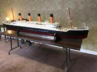 For sale large model ship of the titanic