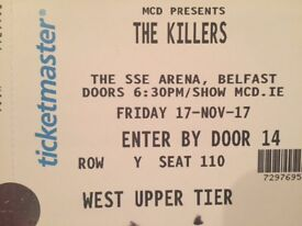 Killers Tickets For Sale