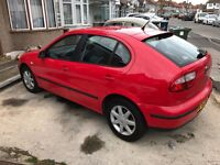 Seat Leon, Red, 5 Door Hatchback, 1.4l Petrol Quick sale wanted Low Mileage