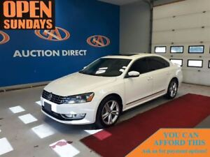2015 Volkswagen Passat 2.0 TDI HIGHLINE! NAVI! LEATHER! FINANCE