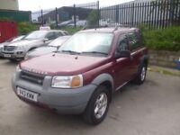 Land Rover FREELANDER XDI-S Wagon,1997 cc 4x4,2 keys,CD PLayer,Alloys,Tow bar fitted