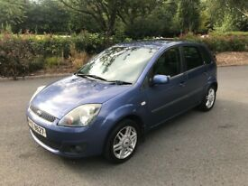 2006 Ford Fiesta 1.4 Ghia ** Full year MOT **