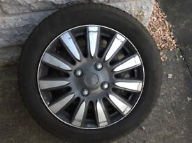 winter wheels and tyres for corsa