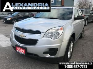 2012 Chevrolet Equinox LS safety included/accident free/1owner