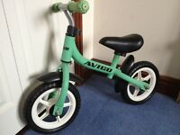 "Avigo 10"" Balance Bike Green Mini BMX Mag Wheels not Burner Chopper Raleigh"