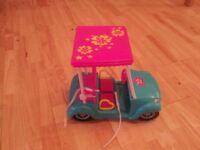 Barbie Golf Cart including Barbie doll