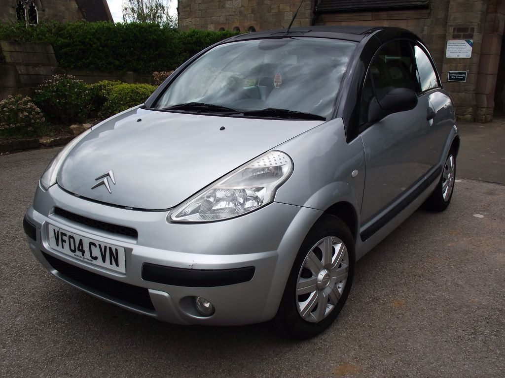 2004 citroen c3 pluriel 1 4 petrol manual convertible full mot gen 71k in chaddesden. Black Bedroom Furniture Sets. Home Design Ideas