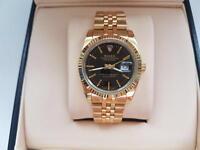 Rolex date just gold