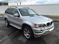 03 PLATE BMW X5 3.0D DIESEL AUTO SAT NAV XENONS HEATED SEATS AUTOMATIC LEATHER LONG MOT