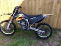 RMZ 250cc mint condition...