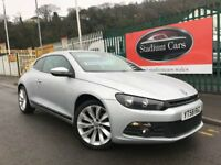 2008 (58 reg) Volkswagen Scirocco 2.0 TSI GT DSG 3dr 6 Speed Automatic Turbo Petrol Coupe
