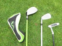 Junior Golf Clubs age 4 to 7.
