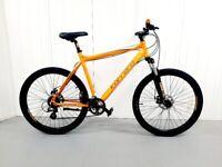 y 🚲🚲 Orange CARRERA VENGEANCE Mountain BIKE 24 Speed Warranty Front Suspension Disc Break🚲🚲