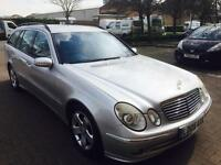 2005,Mercedes Benz,E320 avantgarde estate,F.merc,S.Hstry,same owner since new