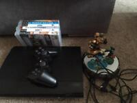 Slim PS3 and games