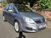 2008 Vauxhall Zafira Elete CDTi Low Miles 7 Seater Diesel Reliable Practical MPV