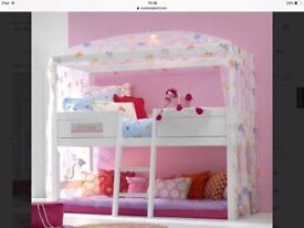FOR SALE: A girls princess bed.