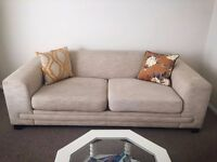 Lovely beige sofa bed only 90 pounds!!!!