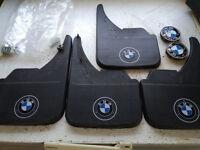 Universal Mudflaps with BMW Logo