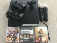PS3 slim in very good condition.