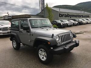 2014 Jeep Wrangler Sport w A/C Hard Top Automatic trans