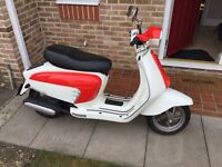 Lambretta LN 125 - only 100 miles - Good as new!