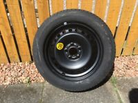 FORD MONDEO WHEEL AND TYRE, BRAND NEW. GOOD YEAR EAGLE NCT5, 205/55/16