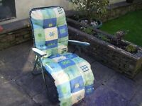 Patio Sun Lounger, unused,