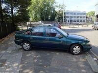 Vauxhall cavalier excellent condition. Genuine low mileage with one owner for 20 yrs.