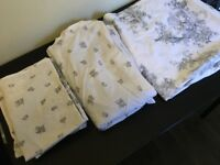 Next brand bedding, complete set for a double bed. Used once, fantastic condition!