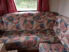 Foam upholstered sofa cushions