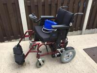 ENIGMA ELECTRIC WHEELCHAIR GREAT CONDITION DISMANTLES EASILY
