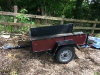 Strong sturdy trailer