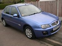 Rover 25 Si 84 5 Door 2004 54 Reg with full MOT