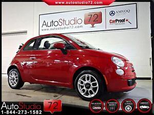 2012 Fiat 500C Pop **CONVERTIBLE**MAGS**5 VIT.**FINANCEMENT 100%