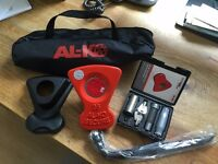 ALKO Secure Compact Wheel Lock Kit 35 Brand New Never Used
