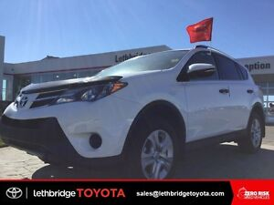 Certified 2013 Toyota Rav4 LE Upgrade AWD - HEATED SEATS!