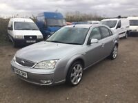 2006 FORD MONDEO TITANIUM WITH SAT NAV SCREEN ALLOYS BLSCK LEATHER NICE DRIVING FAMILY SALOON VGC