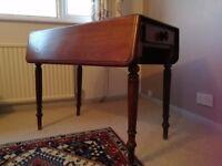 Antique Pembroke drop-leaf table