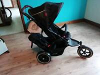 Phil and Ted's Navigator Double Pram Buggy Stroller