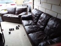 2 seater and 3 seater sofa, good quality sofas
