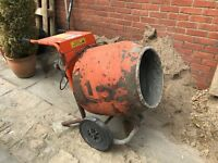 Belle 150 Cement Mixer - 240v - Good Working Order