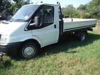TRANSIT 350 LWB DROPSIDE, 12 MONTHS MOT, NOT TAXED, CLEAN AND RELIABLE, SELLING DUE TO UPGRADE.