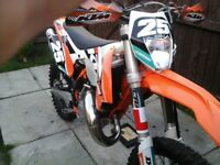 Ktm 125 exc on 64 plate 2015