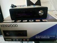 Kenwood Car stereo with USB