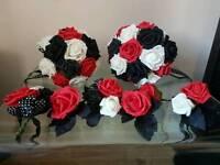 Weading flower bouquets