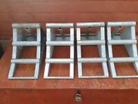 STEEL TRUCK CHOCKS £15.00