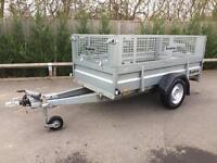 Brenderup 8x4 braked trailer