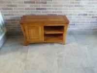 Oak TV Unit- Still available at Oak Furniture Land.