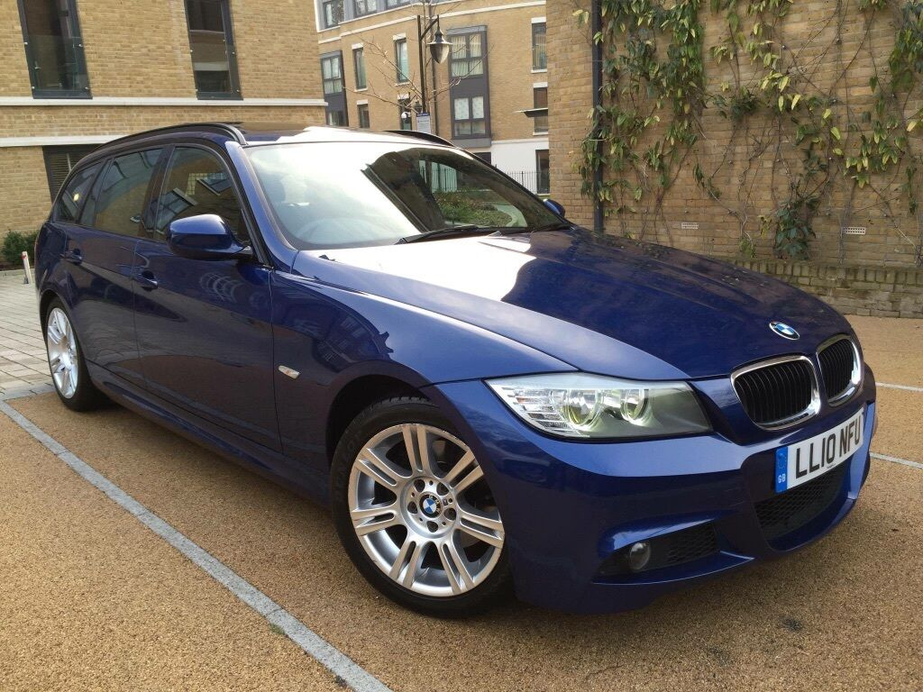2010 10 bmw 320d m sport step auto le mans blue metallic in stoke newington london gumtree. Black Bedroom Furniture Sets. Home Design Ideas